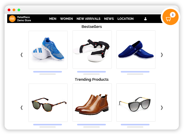 Product Recommendations Ecommerce