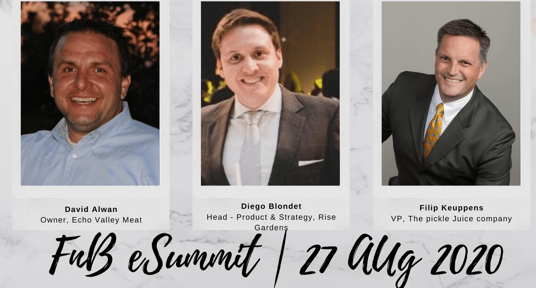 Day 4 – Session 1: F&B e-Summit 2020 (Aug 27th, 2020)