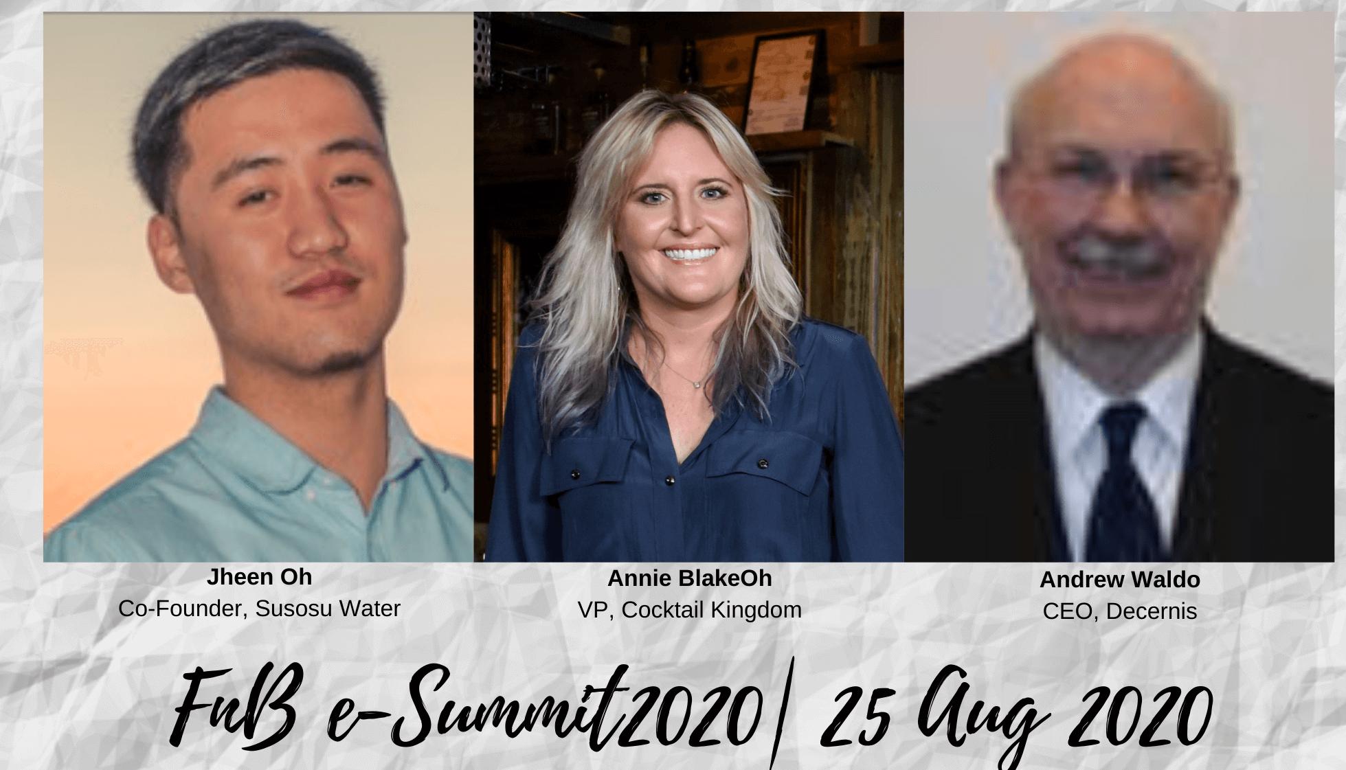 Day 2 – Session 2: F&B e-Summit 2020 (Aug 25th, 2020)