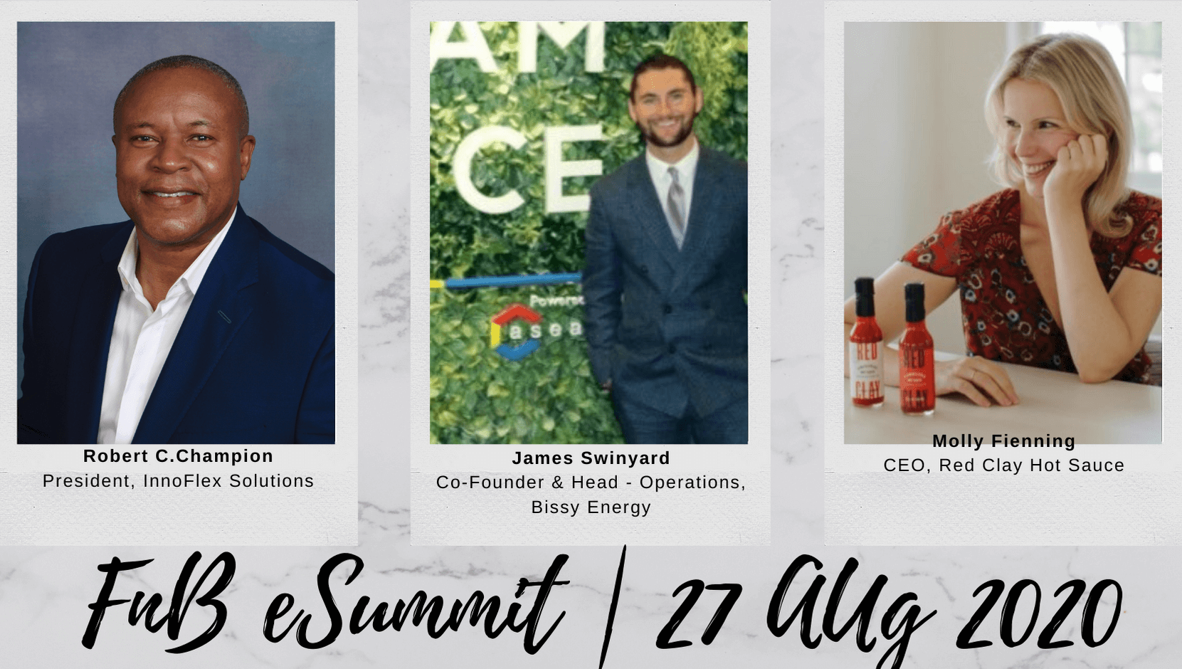Day 4 – Session 2: F&B e-Summit 2020 (Aug 27th, 2020)