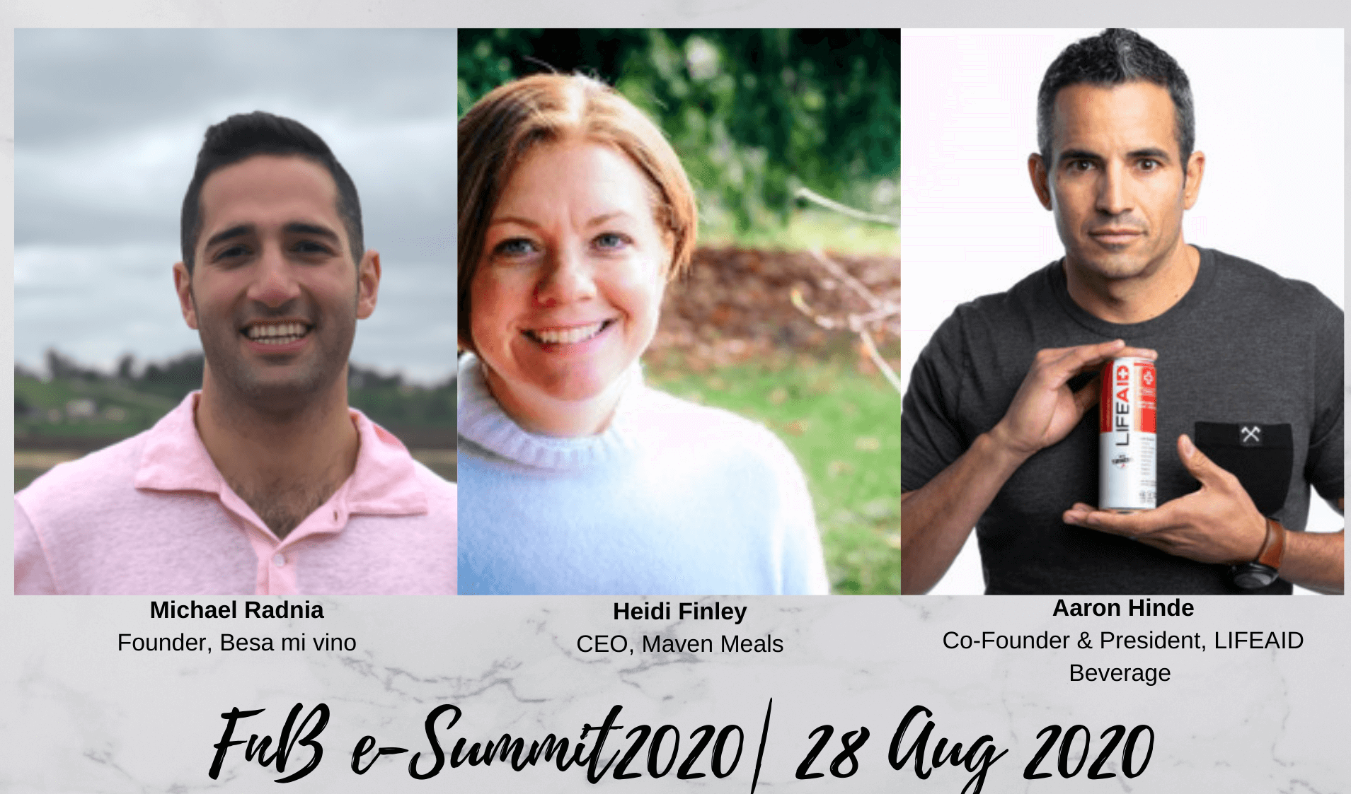 Day 5 – Session 2: F&B e-Summit 2020 (Aug 28th, 2020)
