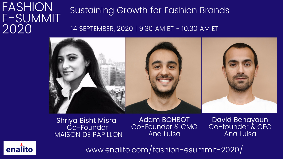 Fashion e-Summit: Day 1 – Session 1 (Sep 14th, 2020)