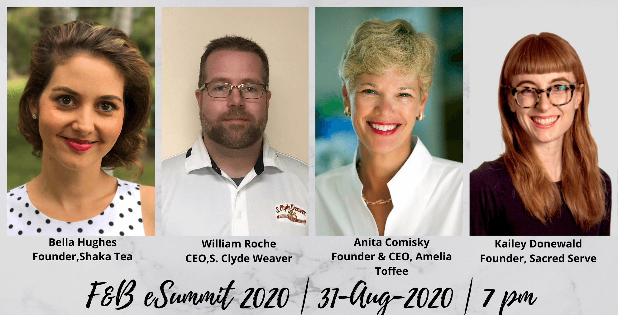 Day 6 – Session 1: F&B e-Summit 2020 (Aug 31st, 2020)