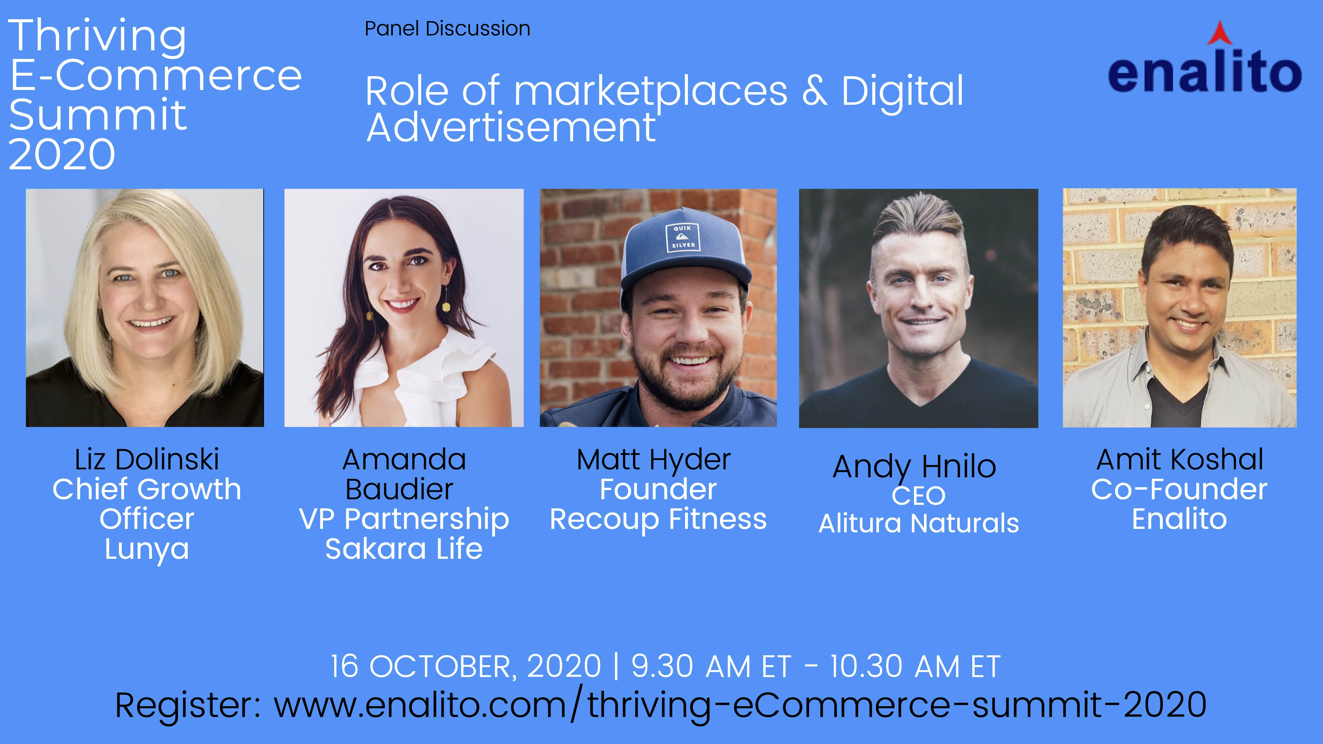 Thriving eCommerce Summit 2020: Day 5 – Session 9 (Oct 16th, 2020)