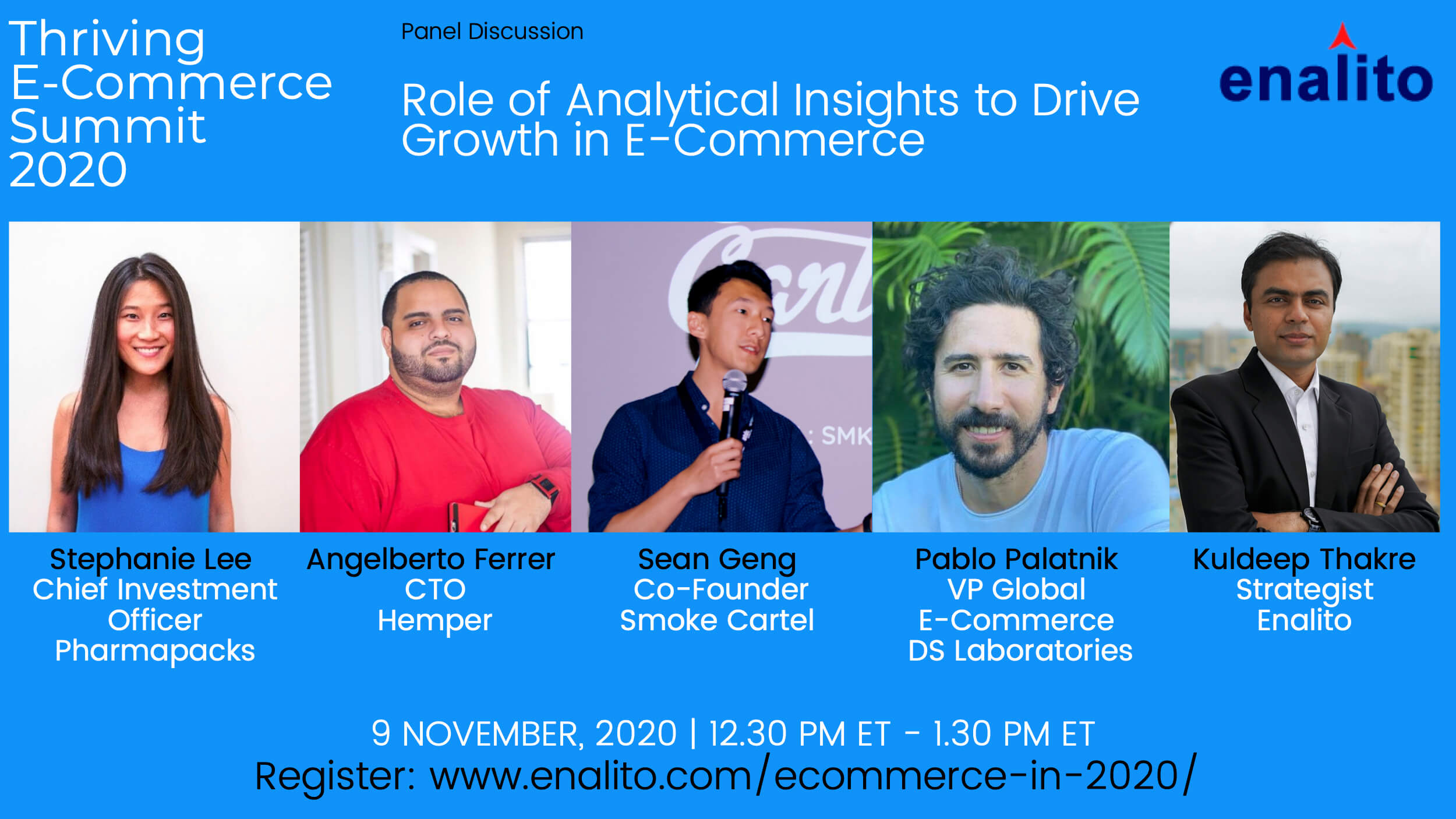 eCommerce In 2020 Summit : Day 1 – Session 2 (Nov 9th, 2020)