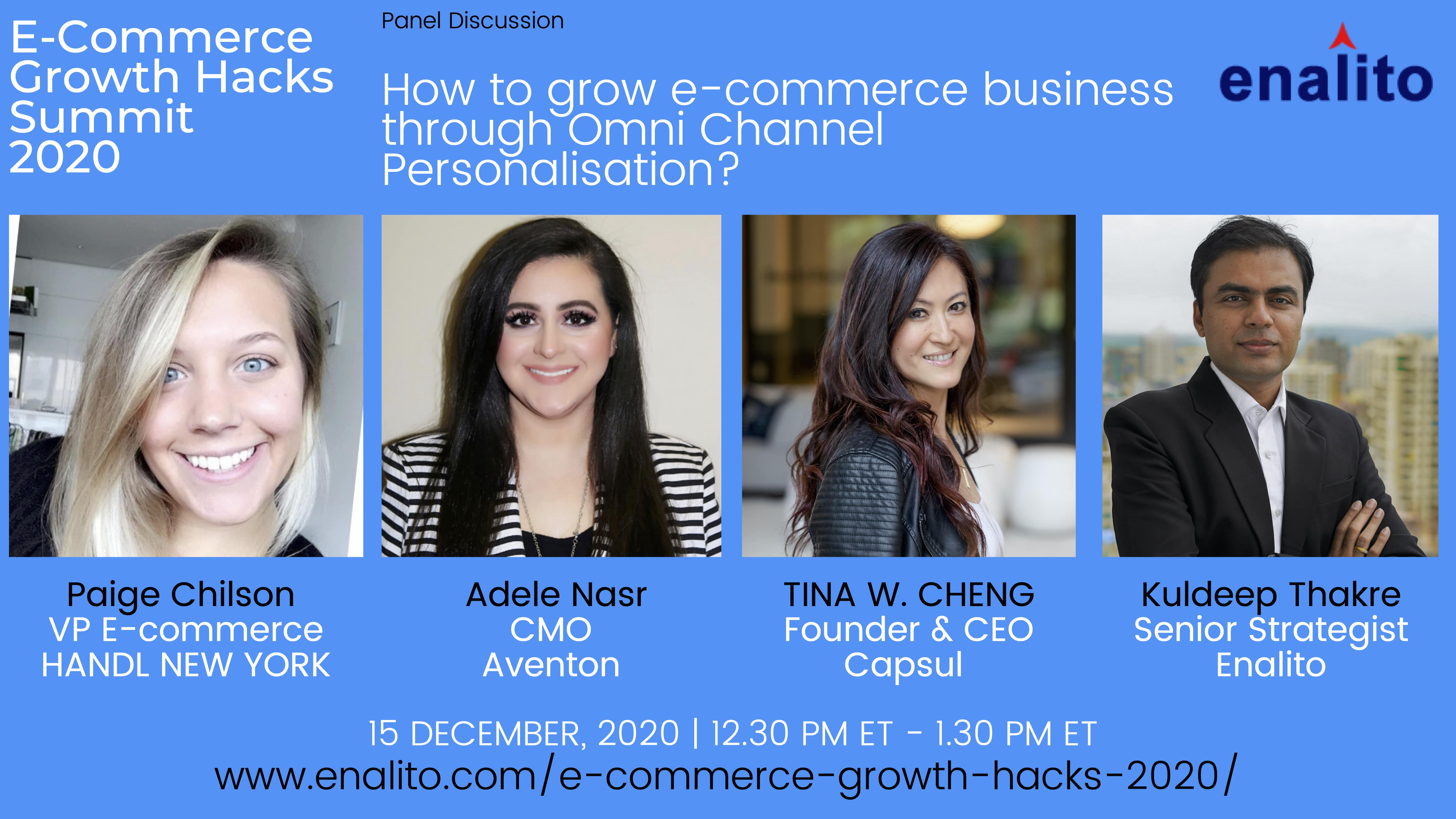 How to grow e-commerce business through Omni Channel Personalisation