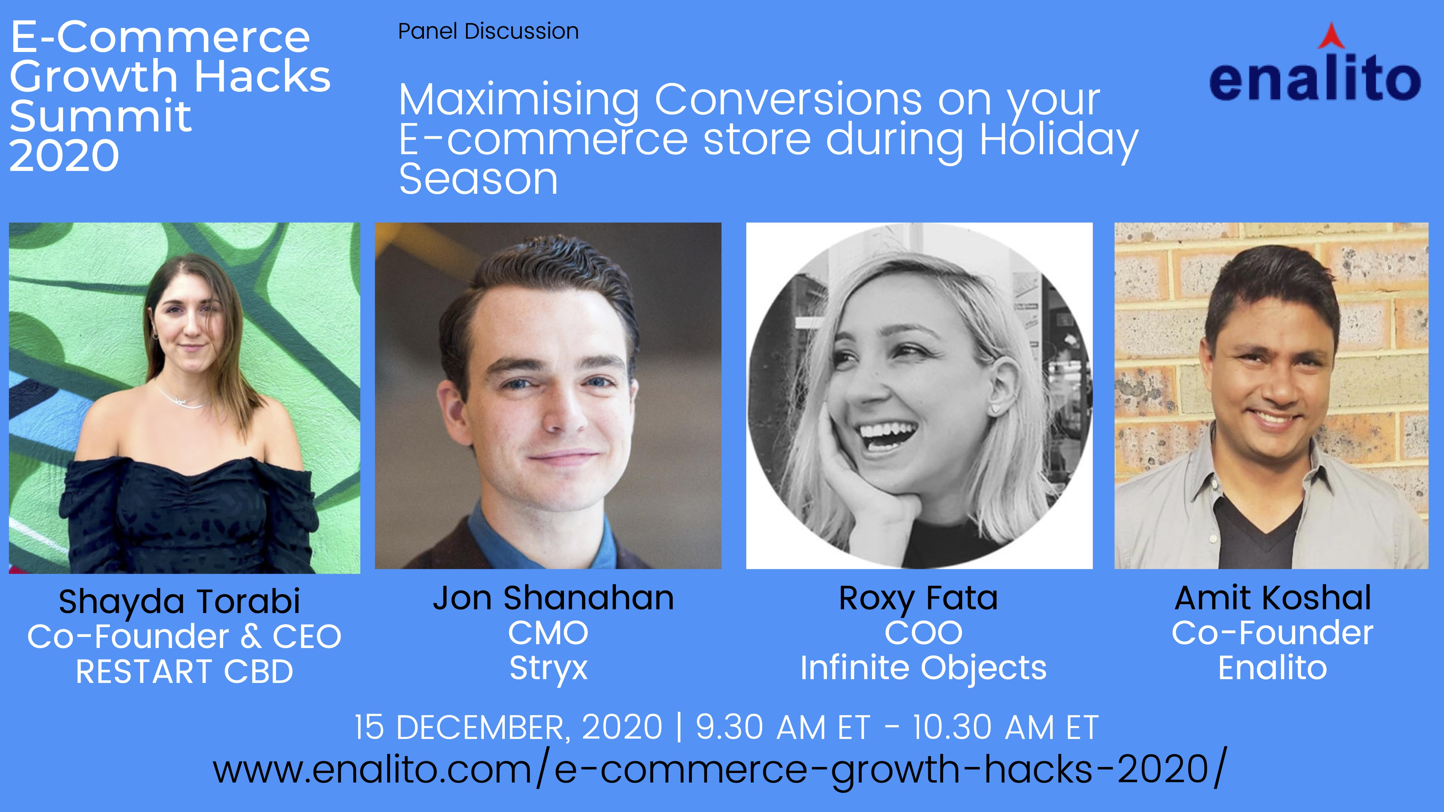 Maximising store conversions on your store during the Holiday Season