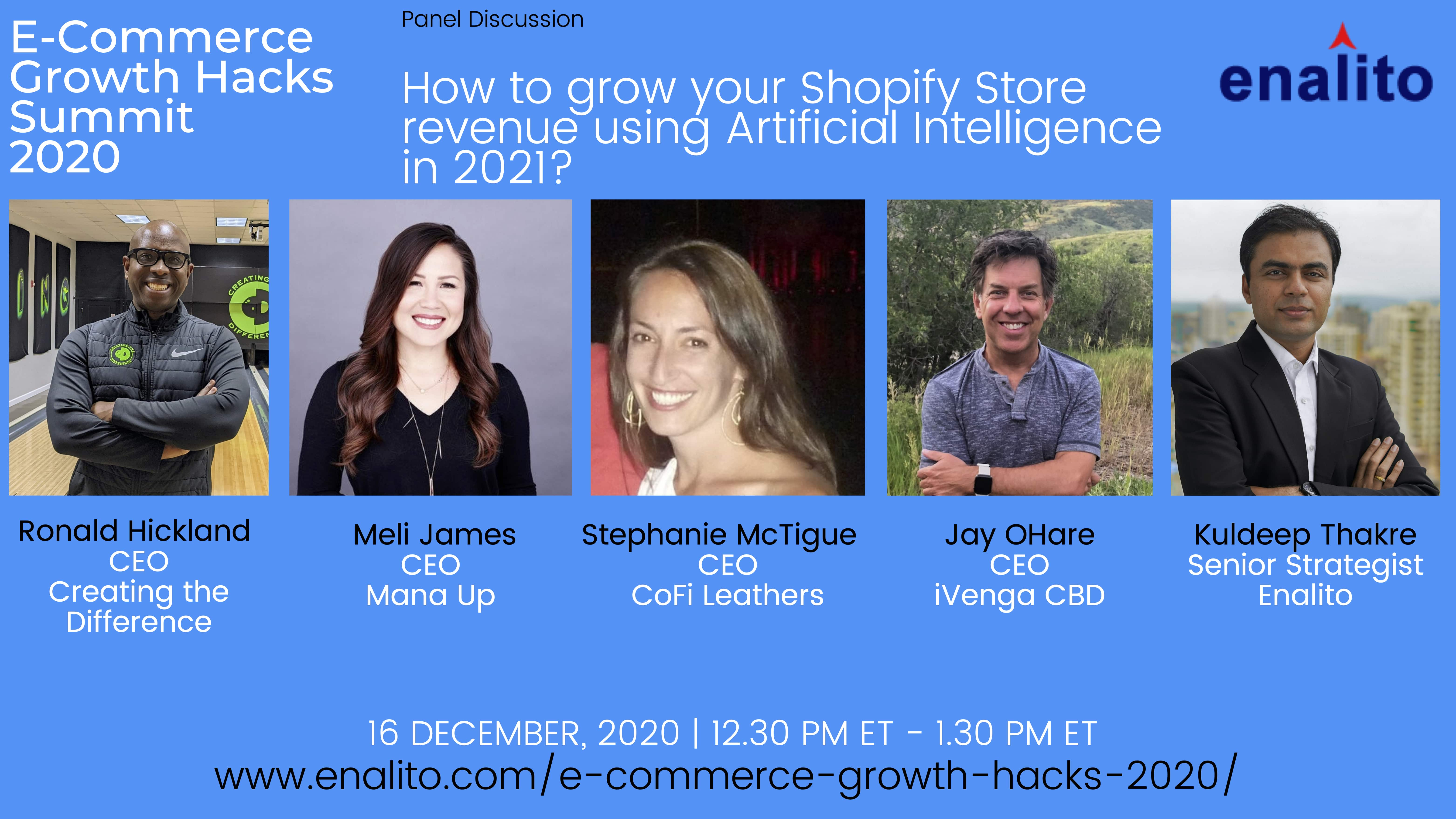 How to grow your Shopify Store revenue using Artificial Intelligence in 2021?