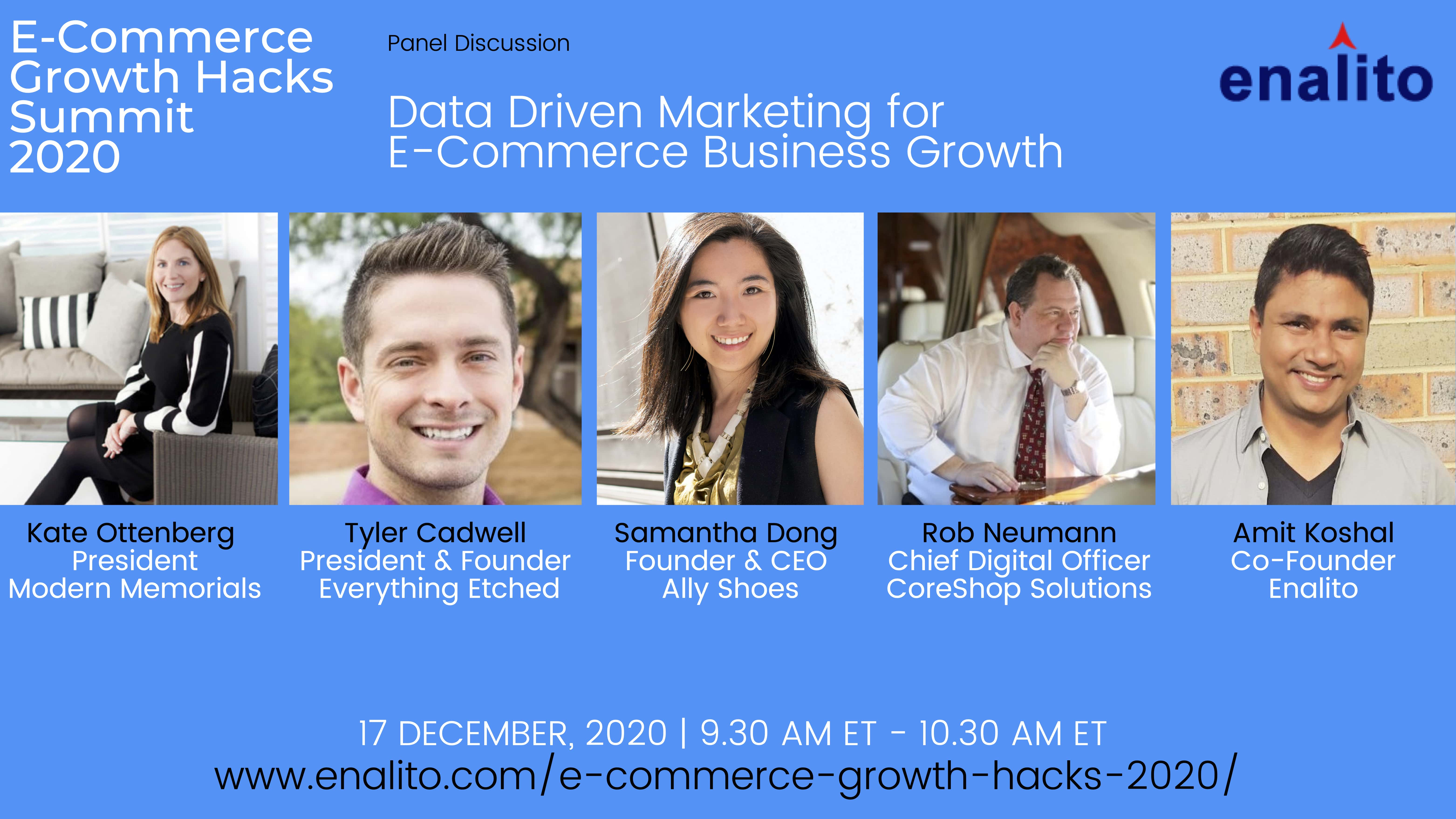 Data Driven marketing for E-Commerce Growth